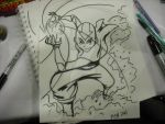 Super Con Sketch Ang by chriscrazyhouse