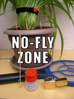 No-Fly Zone - War on the Fungus Gnats by Dowlphin