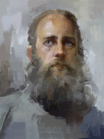 study oilpainting style by LeeKent