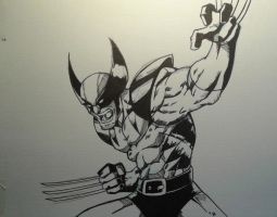 Wolverine Inks by MikeES