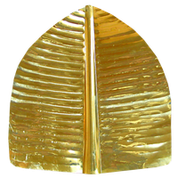 Gold banana leaf for vedic temple offering by LilipilySpirit