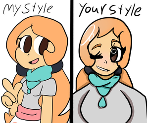 My style your style [meme] by BlackBlossomsYt