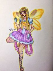 Stella winx. Fan-art. Fan-transformation :3 by YuieRika