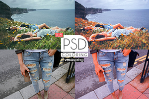 PSD Coloring 015 by vesaspring