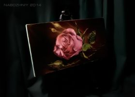old rose  oil. canvas by vangoghtattoo