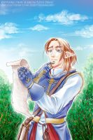 Summer scroll: Silas from A Brush With Magic by sonialeong