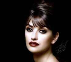 Penelope Cruz by youtuneo