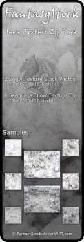 Snow Textures Stock Zip Pack by FantasyStock