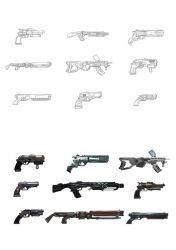 Weapon Design - Videogame Project by TFGuillen