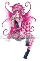 Pink Punk Fairy by SeraphimFeathers