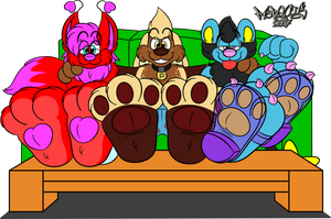 Paws On Display by Marquis2007