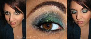 Green With Envy Makeup by Cinnamoncandy