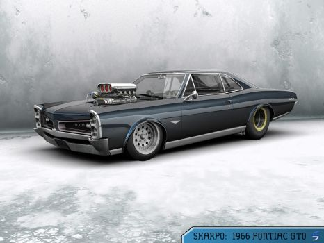 1966 Pontiac GTO by sharplin