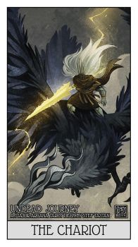 THE NAMELESS KING  - [THE CHARIOT] by StefTastan