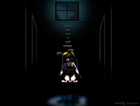 MMD FNAF - Terrible things come in small packages. by JadeKiel