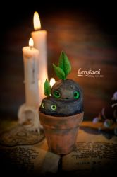 Mandrakes figure by Furrykami-creatures
