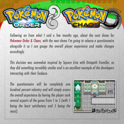 Pokemon Order / Chaos Update - May 2018 by Rayquaza-dot