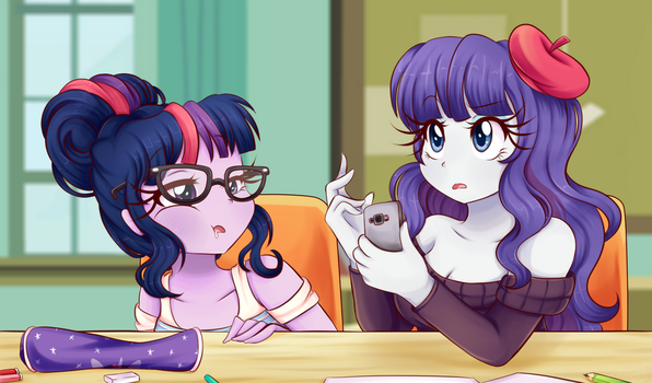 Is everybody ready to start? by Lucy-tan