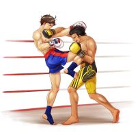 Callum vs Quintyn by  Jen-and-Kris by opant