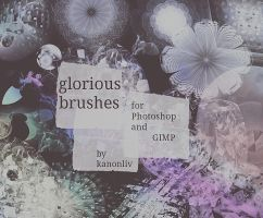 glorious brushes by kanonliv