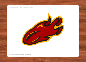 Gainesville Flare Primary mark by chickenfish13