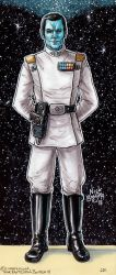 Grand Admiral Thrawn by Phraggle