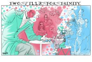 Two pills for Trinity by nerresta