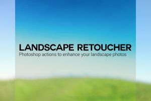 Photoshop Action: Landscape Retoucher by pstutorialsws
