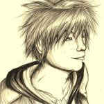 Sora Sketch by Checker-Bee