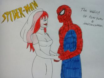 The Wedding of Peter and Mary Jane by JQroxks21