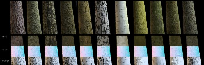 Bark Texture Pack by TheBugaj
