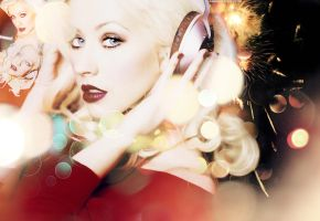 Christina Aguilera Wallpaper by Maxoooow
