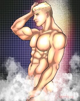 Shower 2 by TumbledHeroes
