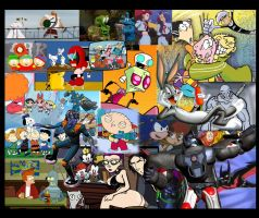 The Cartoons I Love Wallpaper by TheDragonMage