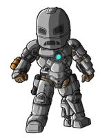 Chibi Movie Iron Man Mk 1 by GuyverC