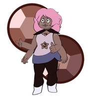 80's Smoky Quartz by Megaia