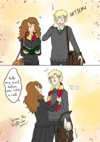 DracoxHermione Comic: Comfort by 19Gioia93
