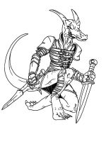 SGG-Kobold Assassin in Elf Armor by ProdigyDuck