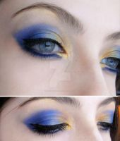 Blue and Yellow by Dead-Rose-16