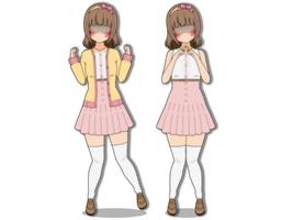 Cute Spring Outfit (Kisekae Outfit Export) by OpalCheesecake