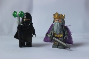 LEGO: Ildrius and Murdstone 02 by DWestmoore