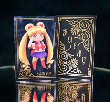Sugar + Spice Trading Card: SailorMoon by ArtofPri