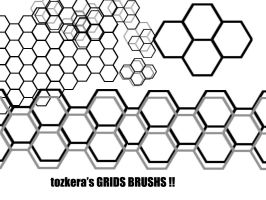 Grids Brush by tozkera