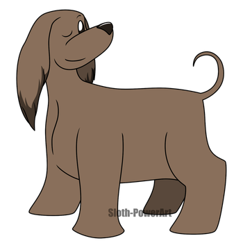Cute Dogs - Afghan Hound by Sloth-Power