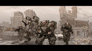Abomination infantry by TheDrowningEarth