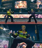 Paul Phoenix as Chuck Greene from Dead Rising 2 by monkeygigabuster