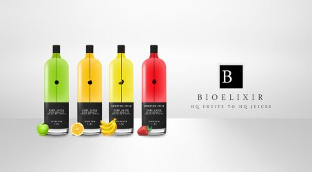 Bioelixir - Bottle packaging design by yiolo