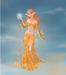 prinses atlantica fullmoon by lunatwo