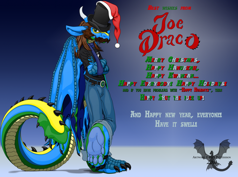 Happy Holidays by JoeltheSwedishDragon