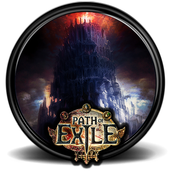Path of Exile Game Icon [512x512] - 2 by M-1618